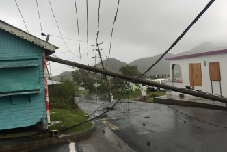 Maria knocks out Montserrat's electricity