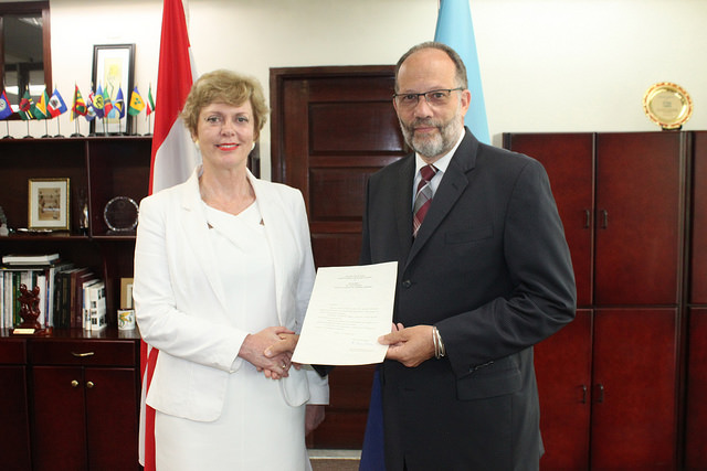 Presentation of credentials austria