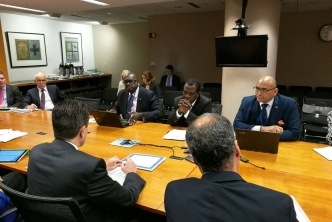 CARICOM Chair begins discussions in Washington
