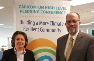 UNDP Director Regional Bureau for Latin America and the Caribbean and CARICOM SG Ambassador Irwin Larocque