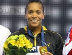 Jamaica's Atkinson continues World Cup Swimming dominance