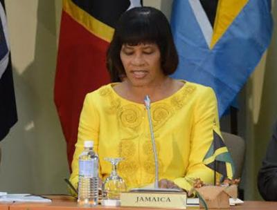 The Most Honourable Portia Simpson Miller, ON, MP Prime Minister of Jamaica, CARICOM-USA Summit