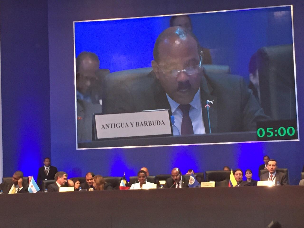 Hon  Gaston Browne, Prime Minister of Antigua and Barbuda
