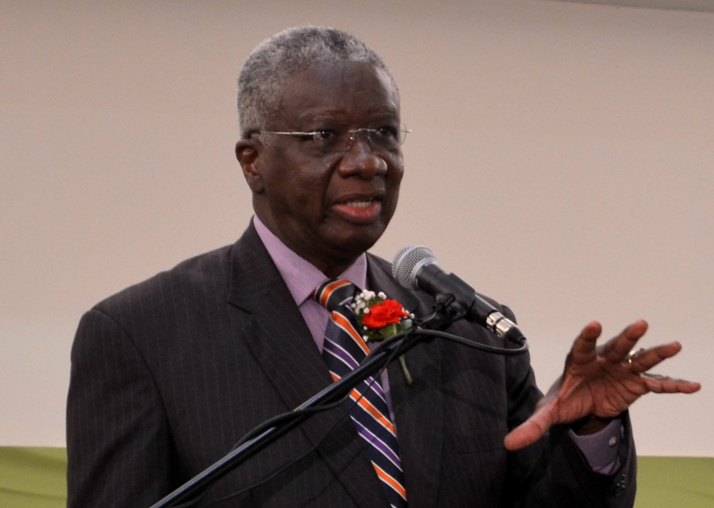 The Rt. Hon. Freundel Stuart, Q.C., M.P. Prime Minister Of Barbados