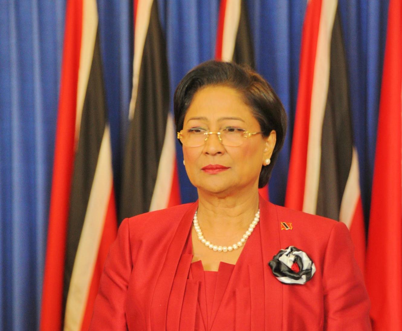 Hon. Kamla Persad-bissessar Prime Minister Of Trinidad And Tobago
