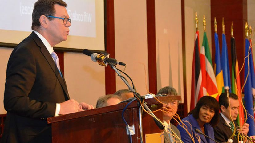 CDB President Dr Warren Smith
