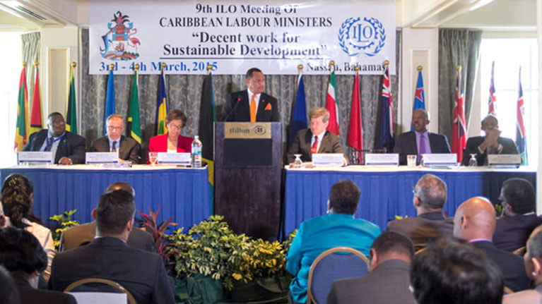 File Photo: ILO opens Ninth Meeting of Caribbean Labour Ministers in The Bahamas