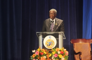 Chairman of CARICOM the Rt. Hon. Freundel Stuart