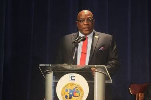 Dr. the Honourable Timothy Harris Prime Minister of St. Kitts and Nevis