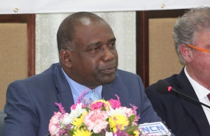Hon. Oliver Joseph, Minister of Economic Development, Planning, Trade, Cooperatives and International Business of Grenada