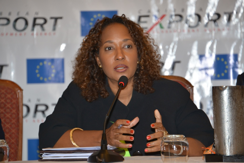 Ms Pamela Coke, Hamilton Executive Director Caribbean Export Development Agency
