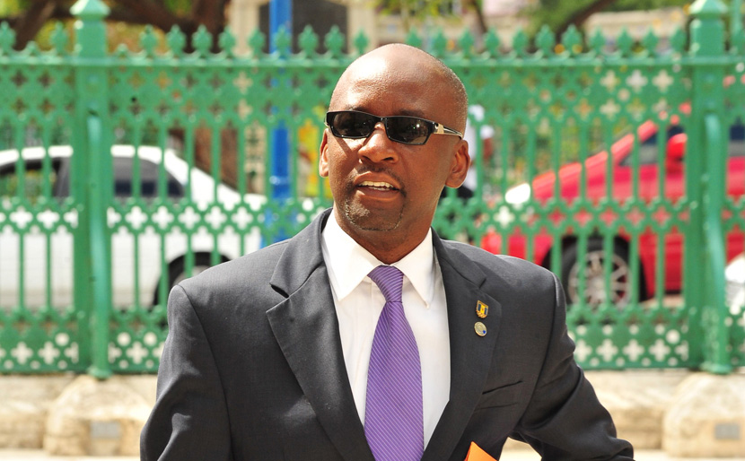 Minister of Culture, Sports and Youth, Stephen Lashley