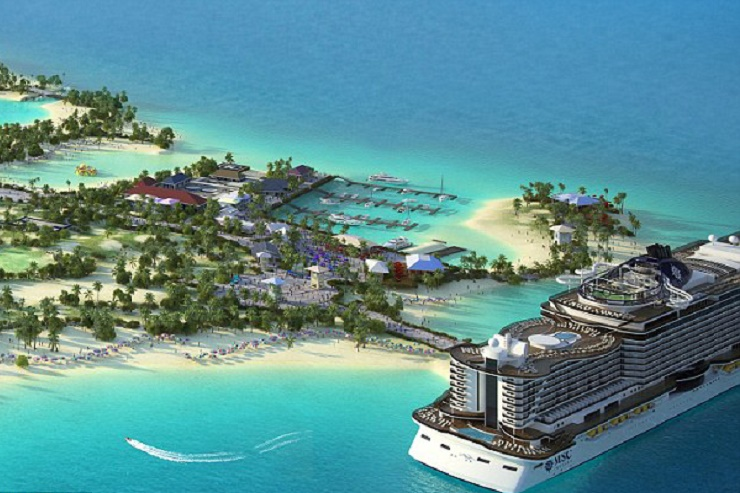 Artist impression of Ocean Cay MSC Marine Reserve. (Photo: MSC Cruises)