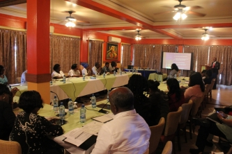 Guyana's Labour and Employers organisations sit together on regional free movement