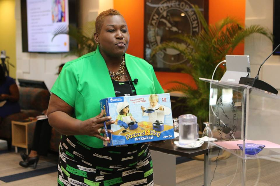 Do toys impose gender stereotypes on children? This was just one of the topics discussed at CDB's Conversation on Gender Socialisation and Early Childhood Development (ECD), 'Teaching Them'. Here Shelley Boyce, Principal of the Mari