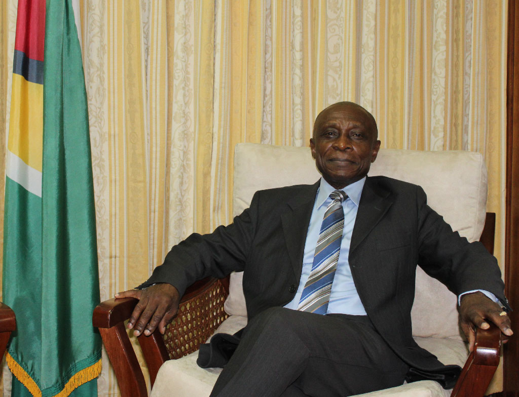 Foreign Affairs Minister of Guyana, the Hon Carl Greenidge