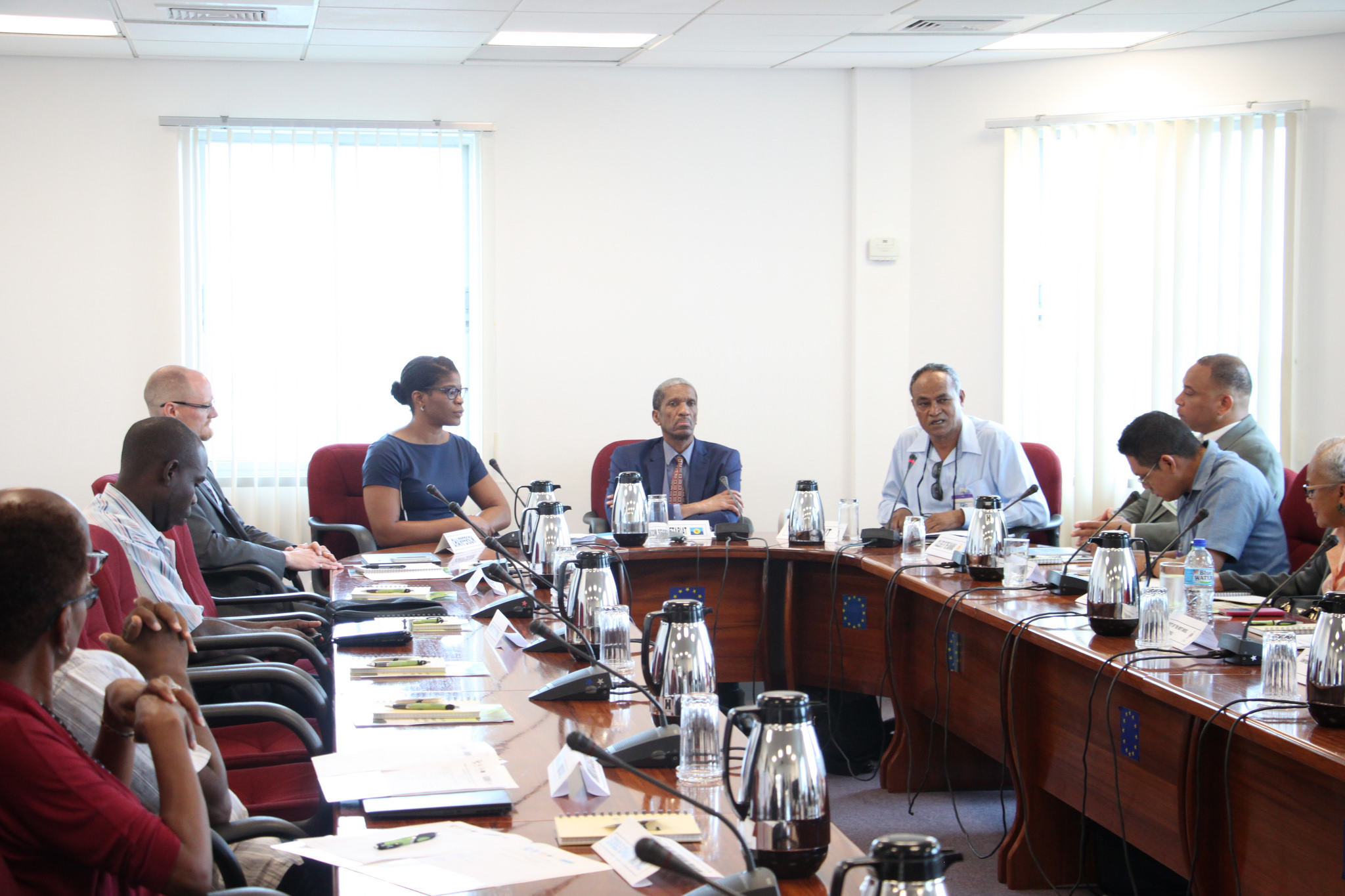 Participants at the opening ceremony for training session on Multilateral Environmental Agreements (MEAs) hosted by the CARICOM Secretariat, 21 June, 2016.