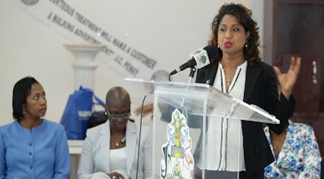 CARPHA's Programme Manager for Tourism and Health Programmes, Surveillance Disease Control and Prevention, Dr. Lisa Indar.
