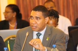 Prime Minister of Jamaica, the Most Hon. Andrew Holness