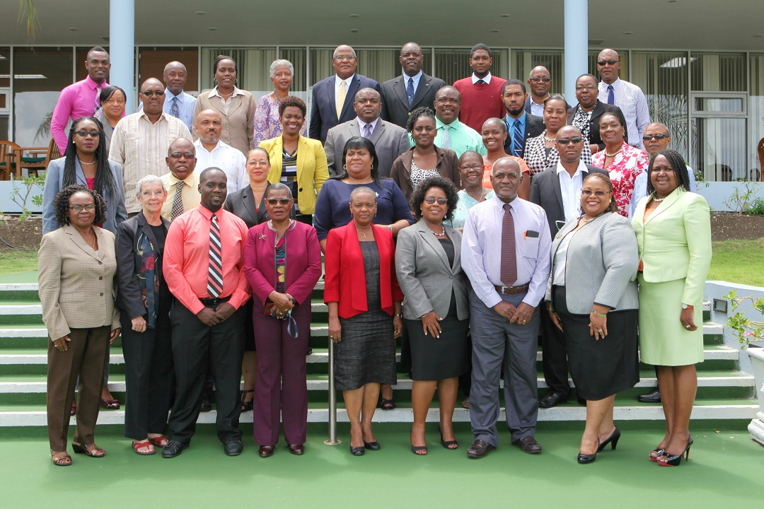 Participants who attended the Consultation, which was held in Barbados from July 25 to 27, 2016.