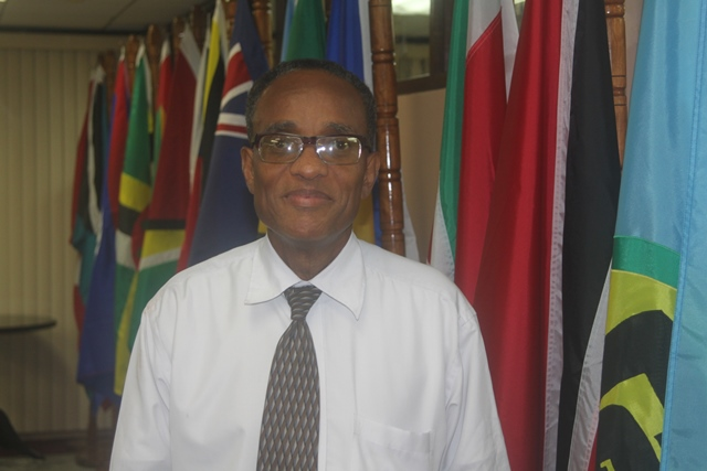 Head of Services at the CARICOM Secretariat Mr. Timothy Odle