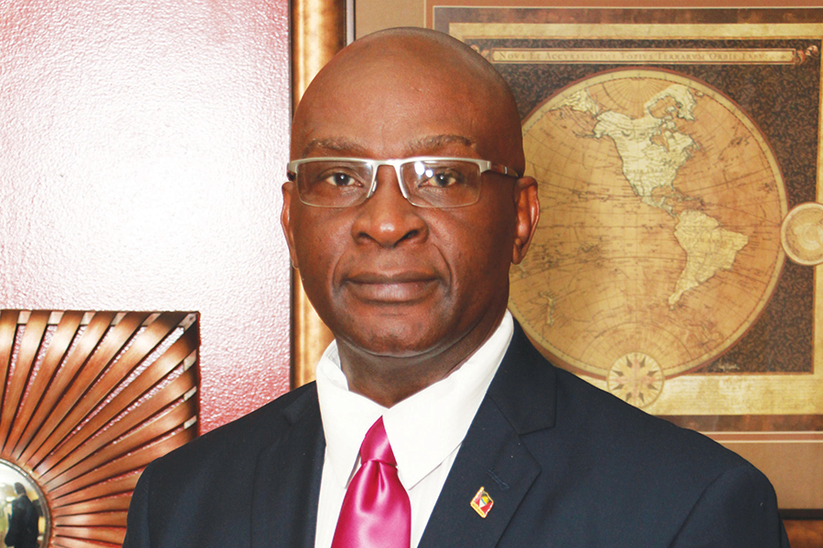 Dr. Clarence Henry Antigua and Barbuda's Ambassador to the Caribbean Community, (CARICOM)