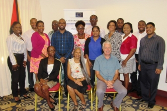 Guyana public sector representatives benefit from Competition Law and Policy training