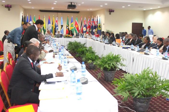 Delegates at the COTED Meeting at the Ramada Princess Hotel, Georgetown, Guyana