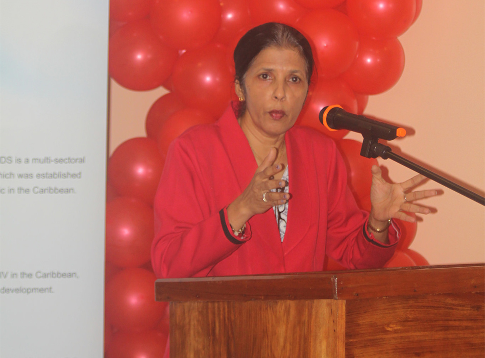 DSG Amb Manorma Soeknandan - World AIDS Day 2016 observance by the PANCAP Coordinating Unit, CARICOM Secretariat, CCS-HQ, (Thurs. 1 Dec., 2016)