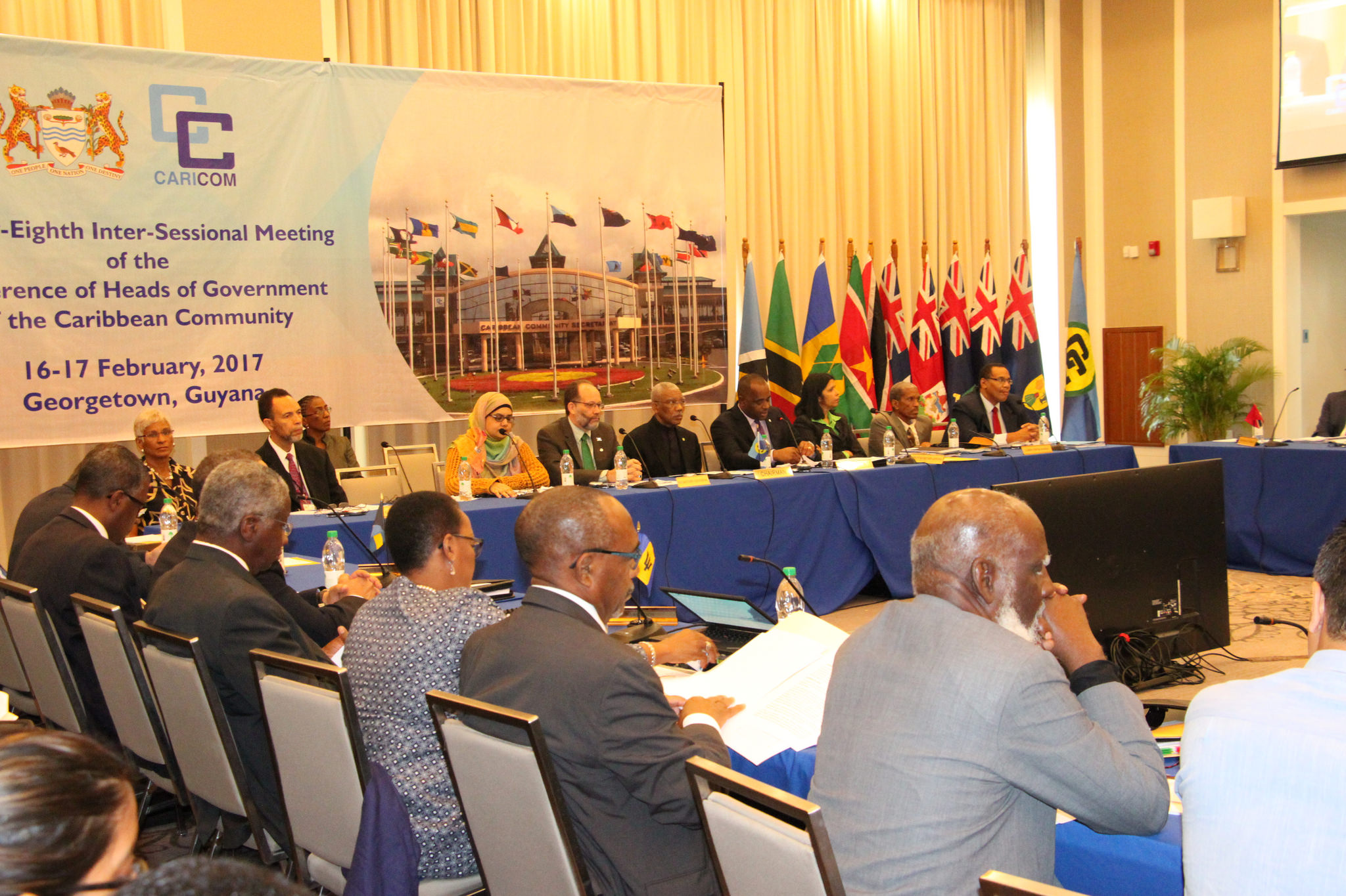 Twenty-Eighth Intersessional Meeting of the Conference of Heads of Government of CARICOM, 16 February, 2017