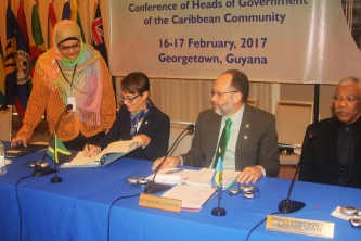 Jamaica Signs and Ratifies Amendment to CARICOM Development Fund (CDF) Agreement