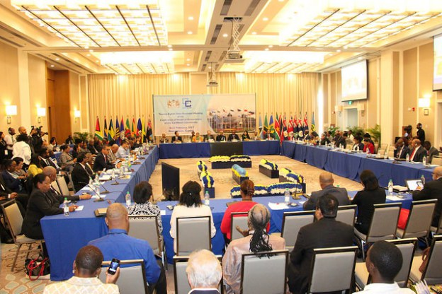 Plenary session at the 28th Inter-Sessional Meeting of CARICOM Heads of Government A comprehensive review of the current status of the CARICOM Single Market and Economy (CSME) was among the matters before Caribbean Community Heads of Government at th