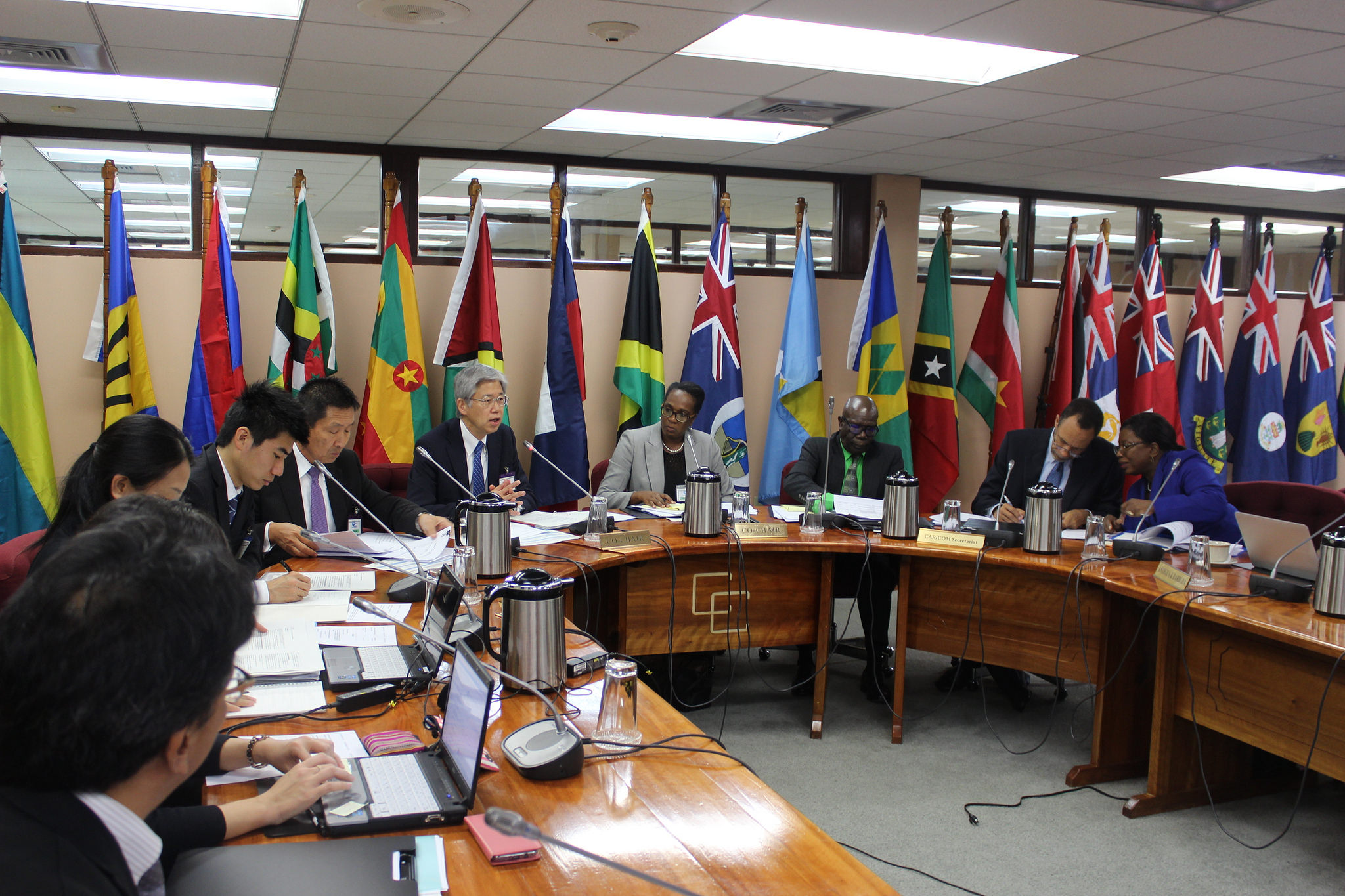 A section of the audience of the Eighteenth CARICOM-Japan Consultations