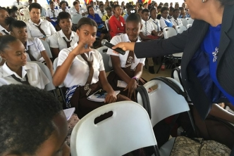 Over 500 Students Attend CSME Presentation in Clarendon, Jamaica