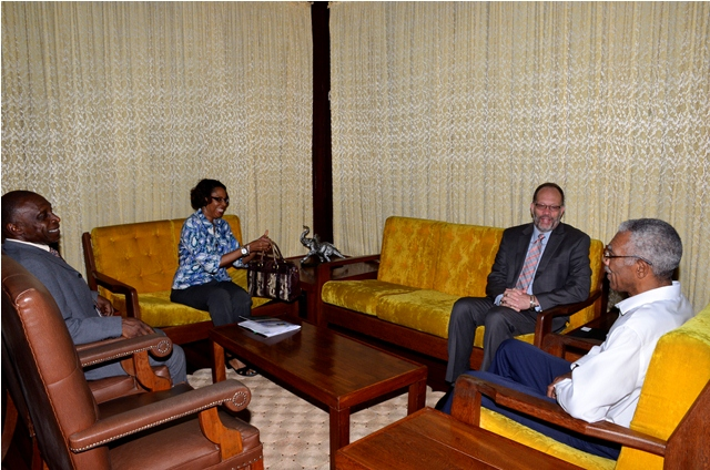 Guyana - pres meets sg 2