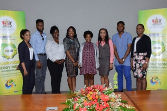 Trinidadian winners of CARICOM Energy Month contests get prizes