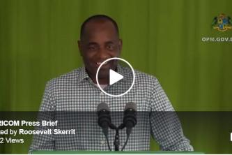 CARICOM Chair, Dominica PM Press Briefing