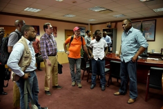 CARICOM Chairman leads delegation to hurricane ravaged Dominica