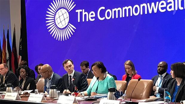 The Meeting in progress (Photo via Commonwealth Secretariat)