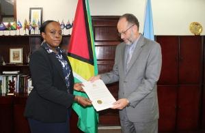 Guyana caricom ambassador2
