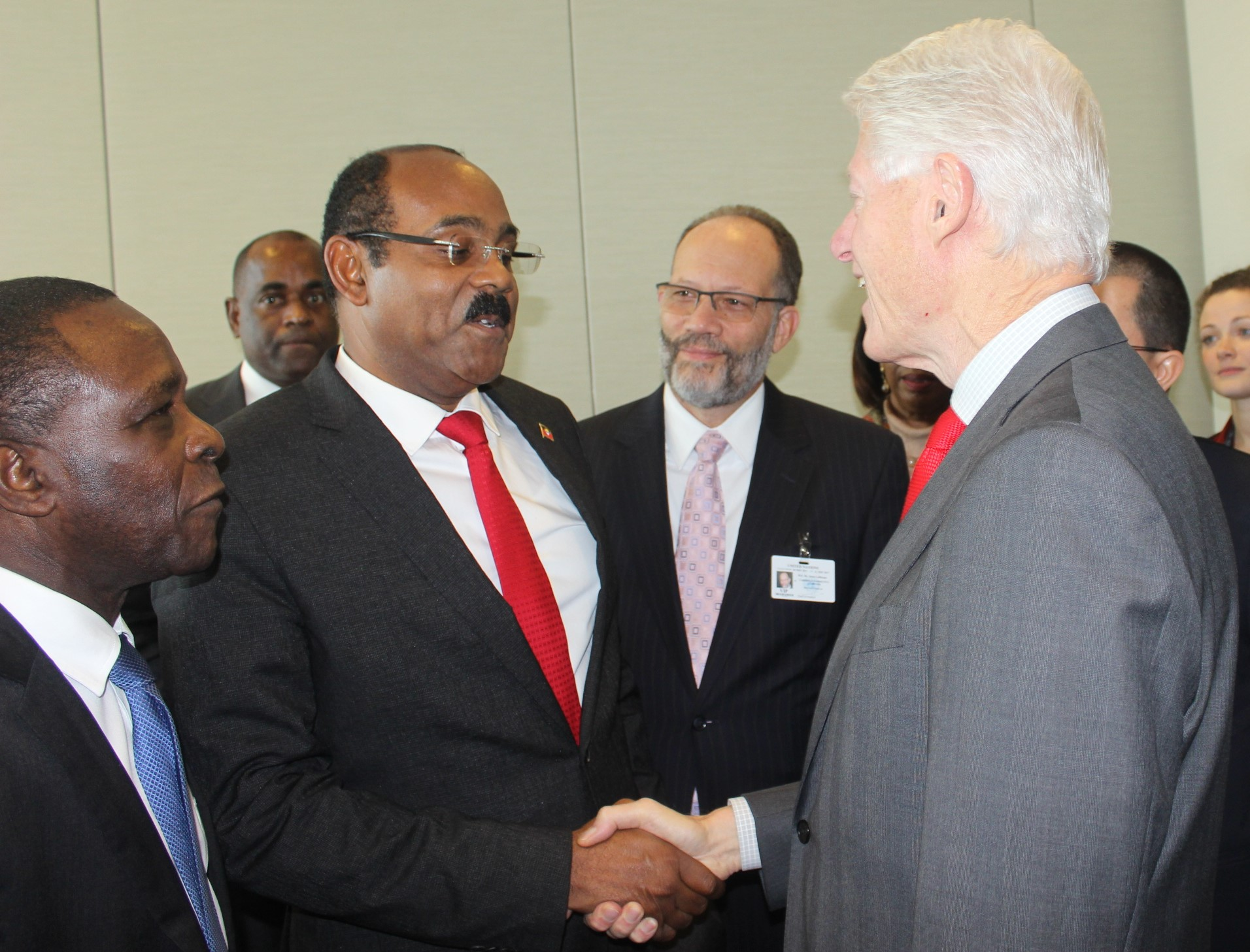 Former US President Bill Clinton was a Special Guest of the Conference