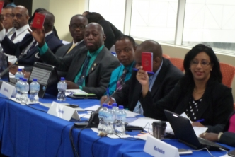 Machine readable CARICOM Laissez Passer for CARICOM staff