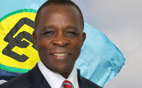 Chairman of CARICOM, Dr. the Rt Hon Keith Mitchell, Prime Minister of Grenada
