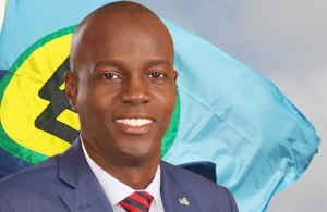 INCOMING CHAIRMAN OF THE CARIBBEAN COMMUNITY HIS EXCELLENCY JOVENEL MOÏSE PRESIDENT OF THE REPUBLIC OF HAITI