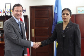 CARICOM and Georgia look to strengthen ties – new Georgian Ambassador accredited