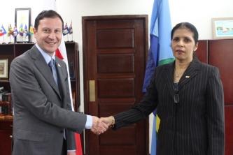 CARICOM and Georgia look to strengthen ties – new Georgian Ambassador accredited