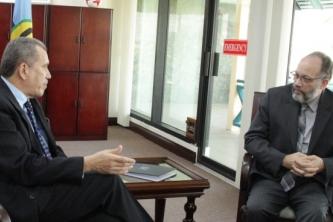 CARICOM, UN Environment discuss closer cooperation