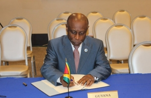 Hon Carl Greenidge, Minister of Foreign Affairs, Guyana