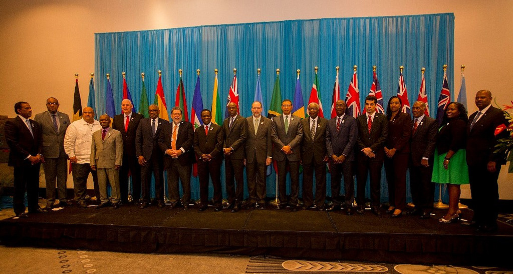 Heads of Government and Heads of Delegation at the Twenty-Ninth Intersessional Meeting of the Conference of Heads of Government of CARICOM 26-27 February, 2018, Port-au-Prince, Haiti