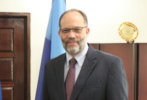 Amb Irwin Larocque, Secretary General of the Caribbean Community